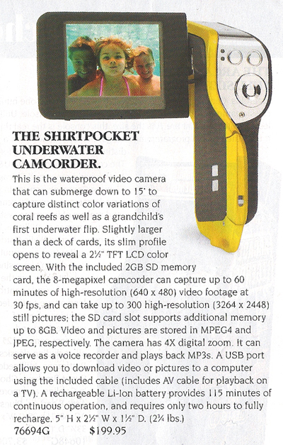 Shirtpocket Cam